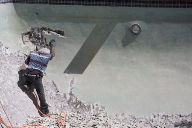 Concrete Pool Demolition Project